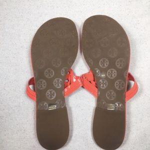Tory Burch Shoes - Tory Burch Miller Coral Flip Flop Sandal 9.5